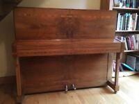 Monington and Weston upright Piano