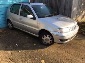 CHEAP!! VW POLO 1.4 WITH MOT!! SPARES OR REPAIRS!!