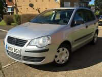 VOLKSWAGEN POLO 1.2**LADY OWNER**64K MILES**RECENTLY SERVICED**LONG MOT**HPI CLEAR**