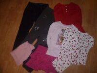 Girls Bundle of Clothes Age 7-8