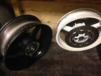 Yamaha R6 5EB set of wheels