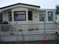 STATIC CARAVAN AT SKEGNESS HUGH 38FT X 13FT REAL LUXURY WITH A BATH! ABI WENTWORTH 2001 EXCELLENT!