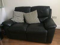 Free 2 seat Leather Sofa