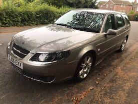 **Auto 2006 Saab 9-5 1.9 TiD Estate *Diesel - New MOT - AUTOMATIC*** High Spec Leathers/Sensors