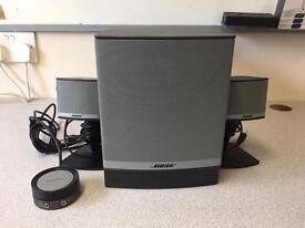 Bose Companion 3 series 2 sound system.