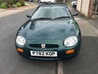 MGF 1.8 VVC CONVERTIBLE ONLY 84500 mls comprehensive history file