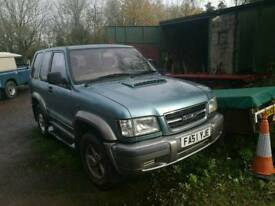 Isuzu Trooper Duty 3.0D 2001 spares or repair