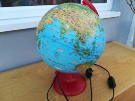 Light Up World Globe