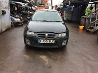 2005 MG ZR+105 1.4 3 dr petrol Black BREAKING FOR SPARES