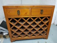 Chinese Wooden Wine Rack