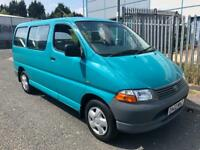 2002 TOYOTA HIACE 280 GLS VERSA D4D DIESEL 60K FROM NEW!! WHEELCHAIR ADAPTED!