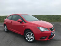 2012 SEAT IBIZA 1.4 SE 16v ONLY 1 LADY OWNER FROM AND FULL SERVICE HISTORY WITH NEW 12 MONTHS MOT!
