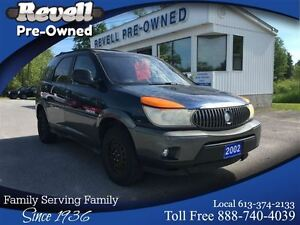 2002 Buick Rendezvous CX   *2 sets tires/wheels   Well kept