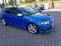 Audi S3 Sprint Blue Pearl Effect