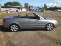 Audi A4 convertible 1.8T with LPG, new MoT