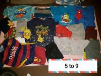 Boys clothes 5 to 12 years job lot