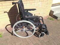 Invacare Action 3 NG Luxury Folding Lightweight Wheelchair