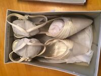Size 6 wedding shoes- brand new! Never worn!