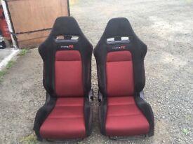 HONDA CIVIC TYPE R SEATS