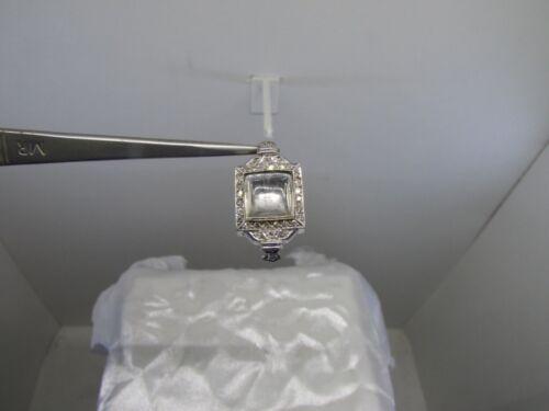 Antique Solid Platinum Diamond Watch Case
