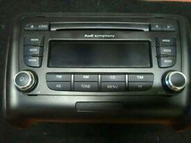 AUDI TT M2 2009 CD PLAYER AUDI SYMPHONY 8J0057195GX 8J0 057 195 GX