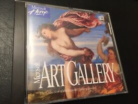 Microsoft Art Gallery PC CD-ROM 1993