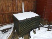 FREE outdoor storage