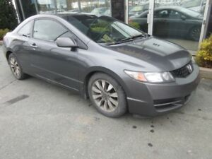 2010 Honda Civic EX-L COUPE WITH LEATHER & ALLOYS