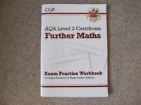 CGP NEW GCSE Further Maths AQA Exam Practice Workbook