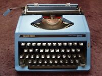 Silver Reed SR-10 Portable Typewriter.