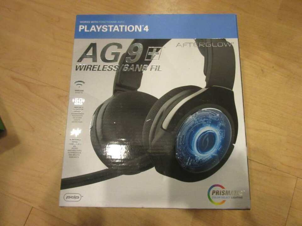 06a4cd5ee44 PDP Afterglow AG 9+ Wireless Headset (PS4)   General Electronics ...