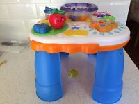 Fisher Price Alphabet soup Activity table