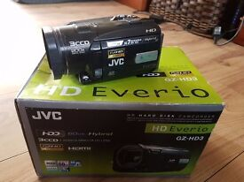 CAMECORDER JVC GZ-HD3EK
