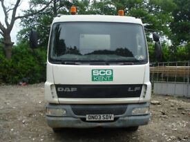 DAF TRUCKS FA LF45.150 2003 TIPPER