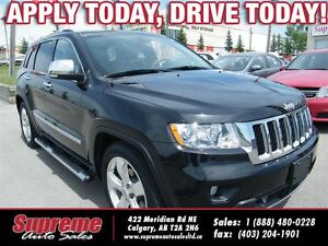 2012 Jeep Grand Cherokee OVERLAND NAVI/B.CAM/R.START/LEATHER