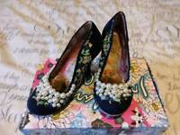 Irregular choice pearly girlies size 3