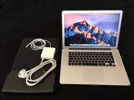 "MacBook Pro 15""4inch 500GB HD 8GB 1333 MHz DDR3 Intel Core i7 Intel HD Graphics 3000 512 MB for sale"