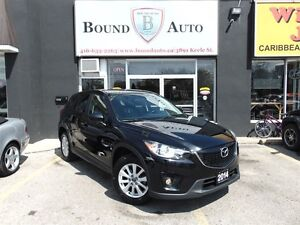 2014 Mazda CX-5 GS-B-UP CAMERA,LEATHER,SUNROOF,ALLOYS,LUX PKG