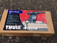 Thule 4304 Foot Pack with lock and keys