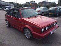 1991 CLASSIC MK1 VOLKSWAGEN GOLF CLIPPER CABRIO UN-FINISHED PROJECT £1795 O-N-O