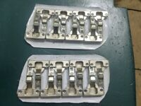 kitchen cabinet hinges (new) standard pair x 8. soft closing pair x 12