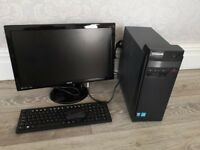 Lenovo PC , BenQ Monitor, Wireless Keyboard and Mouse