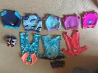 Happy Nappies , sunsuits swimming suits small, medium, large 6 months -4 years