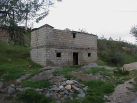 Spanish barn in serria de baza national park, £8500 with planning for a house new sess pit