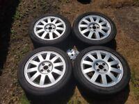 Alloy wheels set