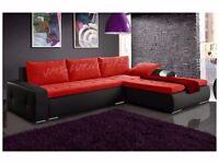 Corner Sofa Bed - California Max - JMS Furniture - choose your colour of corner !!!