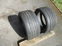 Two Tyres - 265/35/18 97Y (XL) 3-4 mm & 4-5 mm