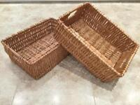 SOLD ... SOLD ... SOLD ...Wicker Baskets