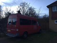 MB Sprinter minibus 9 seats, 04 reg, diesel, reverse camera
