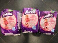 Huggies pull ups nappys size medium